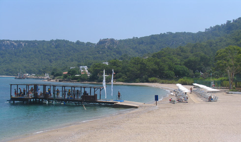 Kemer strand